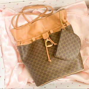 ♥️Beautiful RARE ❤️Celine Bucket Crossbody Bag